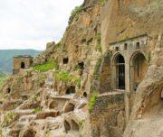Вардзия -город в скале
