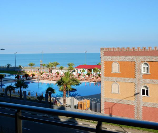 Апартаменты Orbi residence, вид с балкона